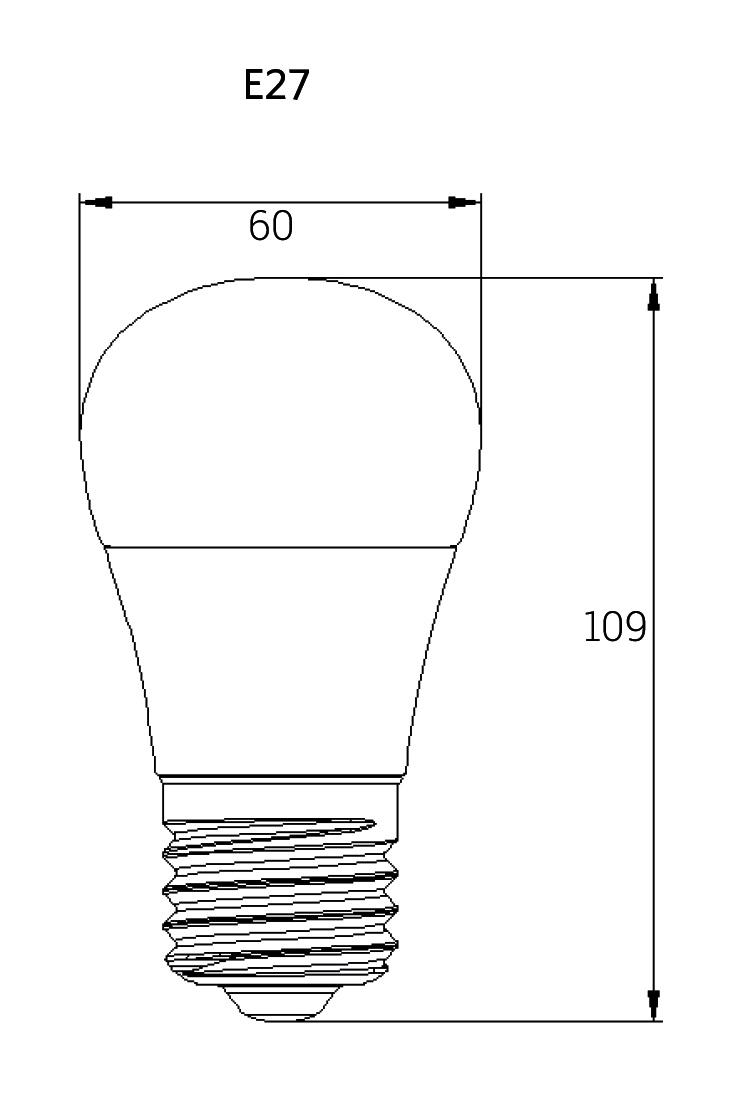 maatschets 1400446x LED A60