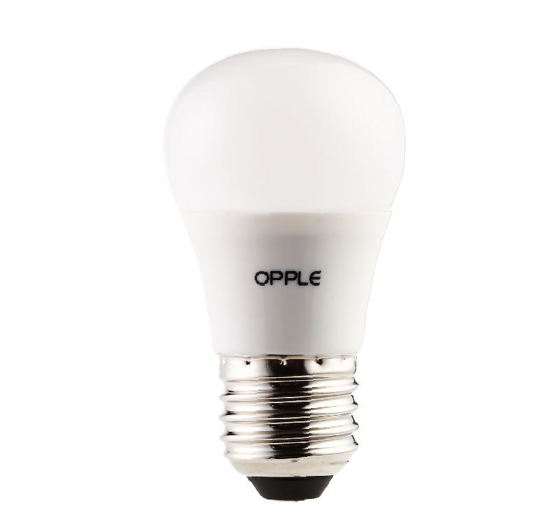 LED Globe lamp Opple E27 4W warm wit opaal