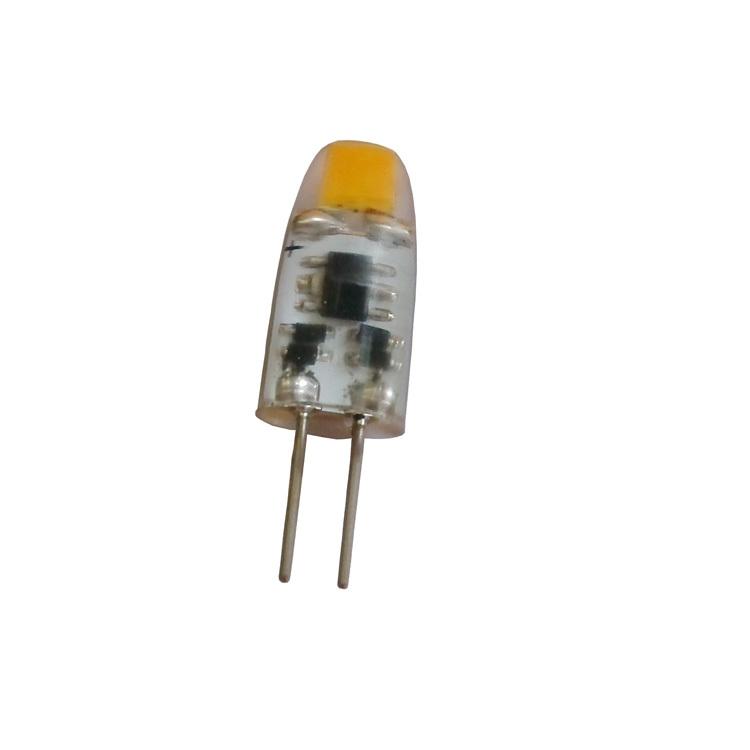 LED 12V Capsule G4 1,1W warm wit silicoon