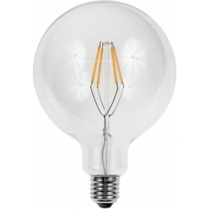 led globe lamp e27 4w 2200k filament dimbaar ledlampcentrale. Black Bedroom Furniture Sets. Home Design Ideas