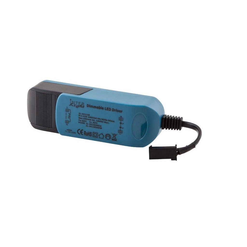 LED Driver INTERLight Camita 230V/600mA dimbaar