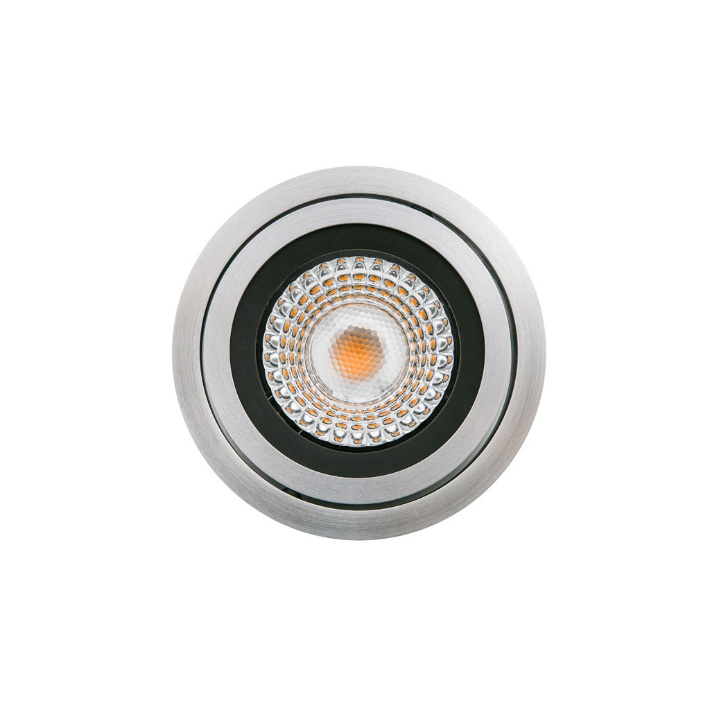 Ring aluminium inbouwarmatuur AR111 kantelbaar 1x max 75W G53