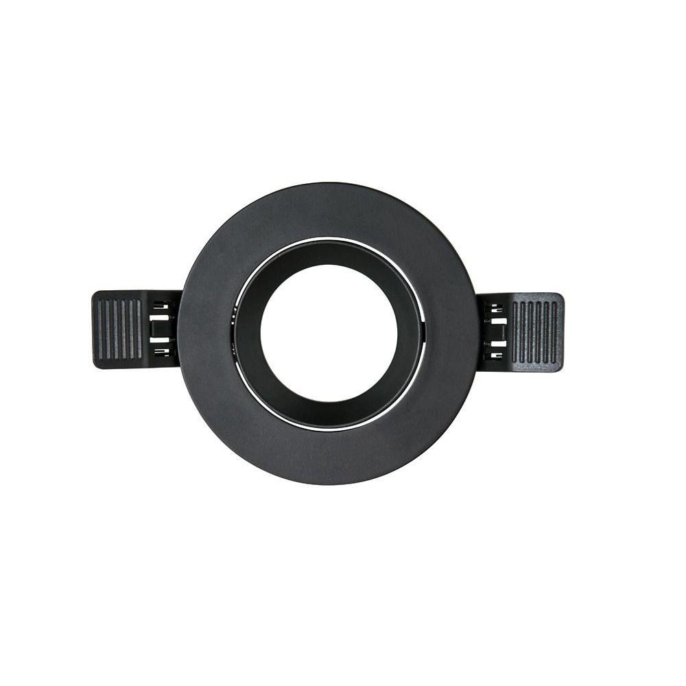 Frame INTERLight MR16 90mm rond IP20 mat zwart