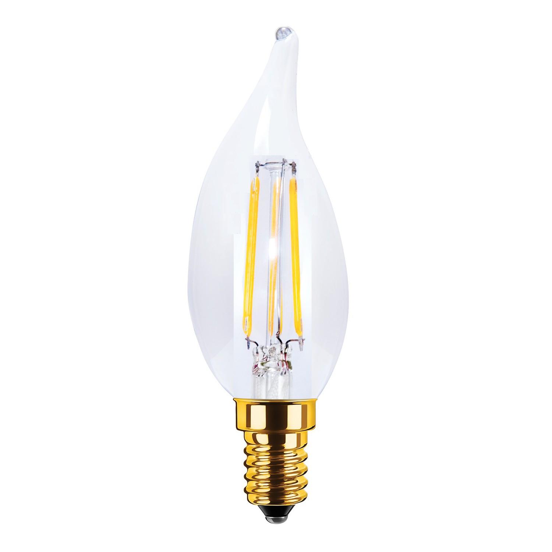 LED Kaars Segula 3,5W Flame Helder 200lm dimbaar