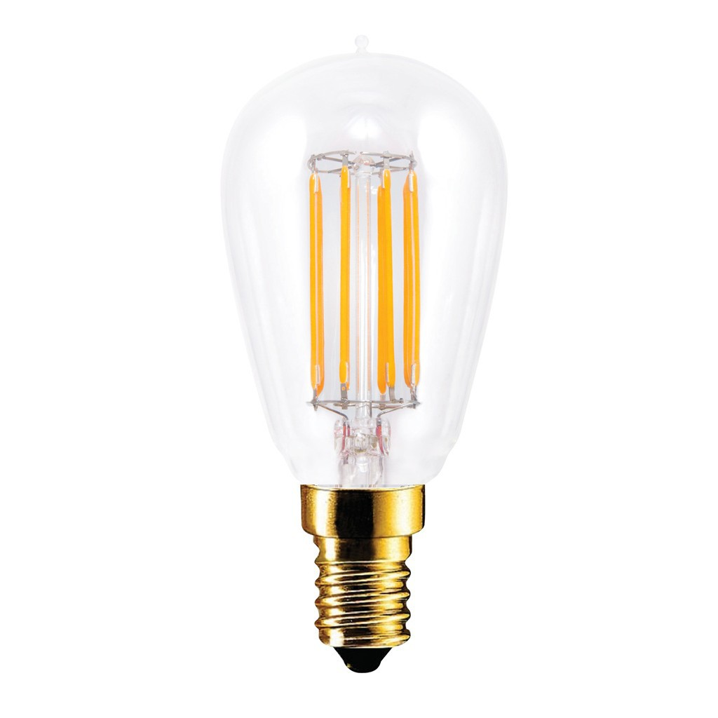 LED Radio Style Segula E14 4,7W 2200K 400lm dimbaar